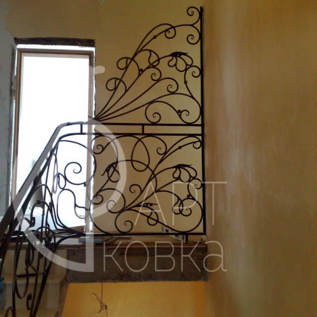 Кованые перила для лестниц Винтаж 39