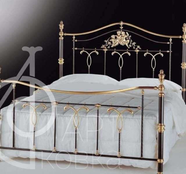 Кованая кровать Алукард