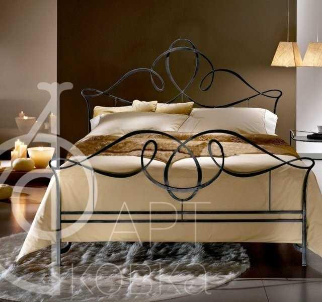 Кованая кровать Фива