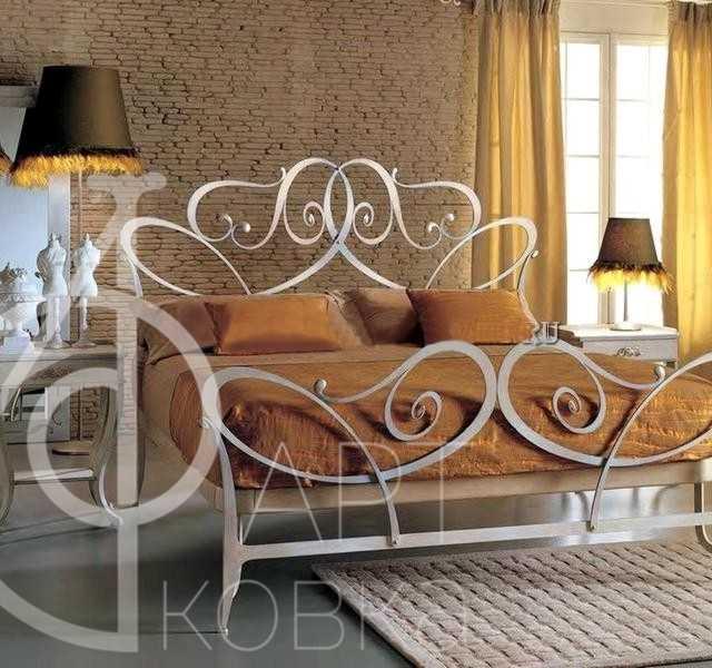 Кованая кровать Тароне 77