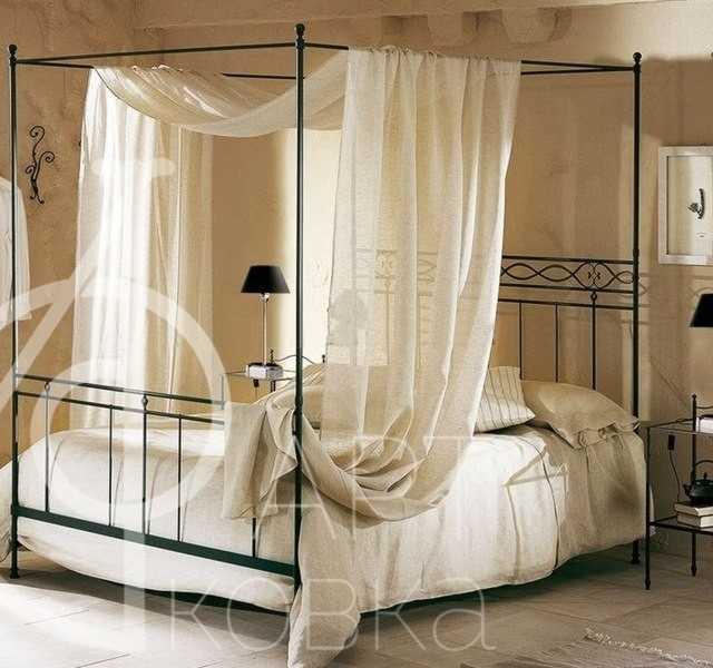 Кованая кровать Бершка 79
