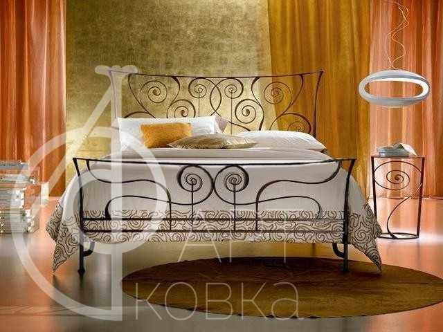 Кованая кровать Салазар 80