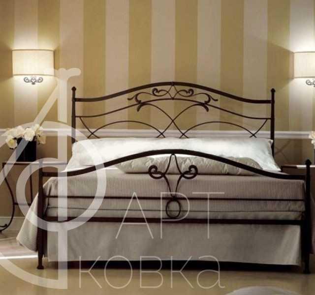 Кованая кровать Ависенна