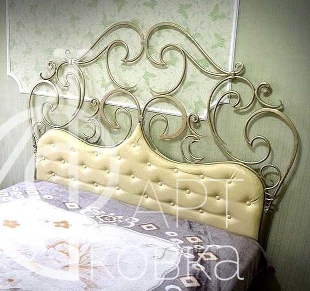 Кованая кровать Сальма