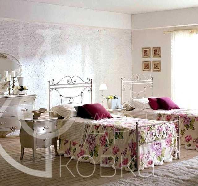 Кованая кровать Велма