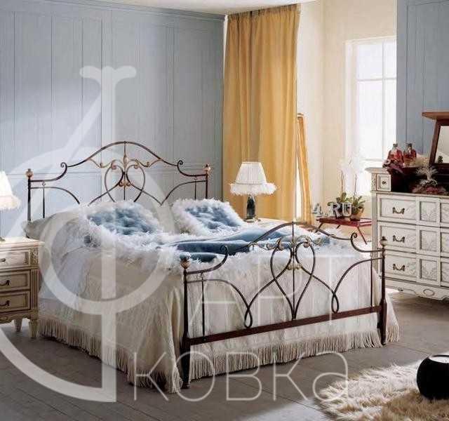 Кованая кровать Роуз