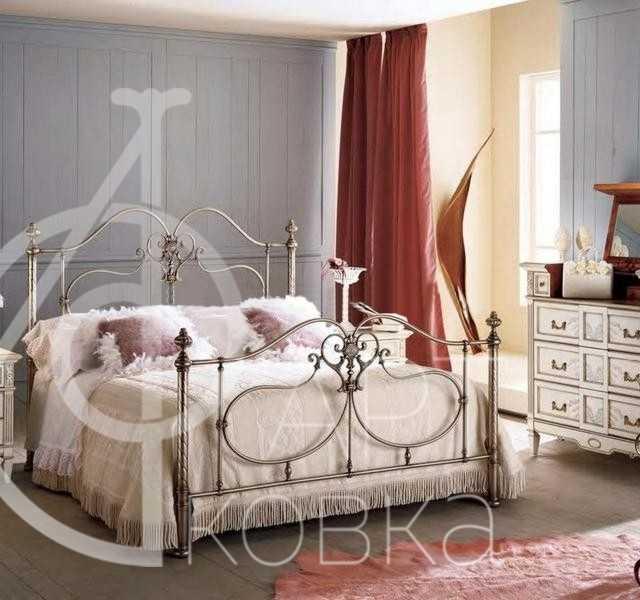 Кованая кровать Белатрисса