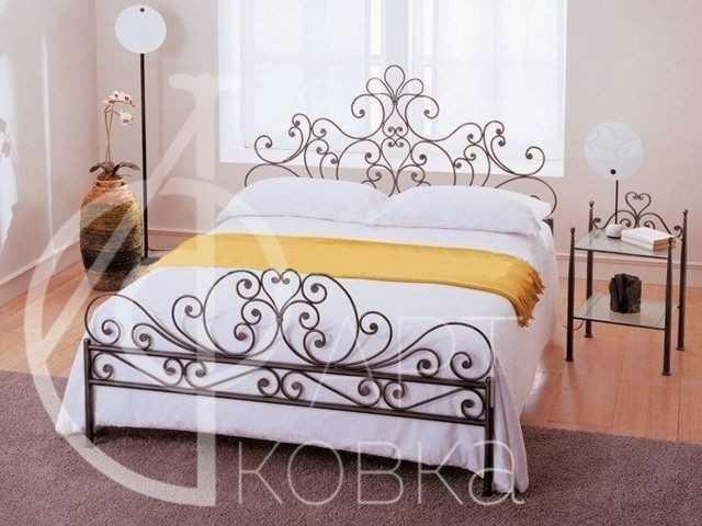 Кованая кровать Даяна