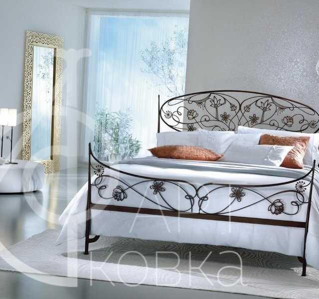 Кованая кровать Трисс