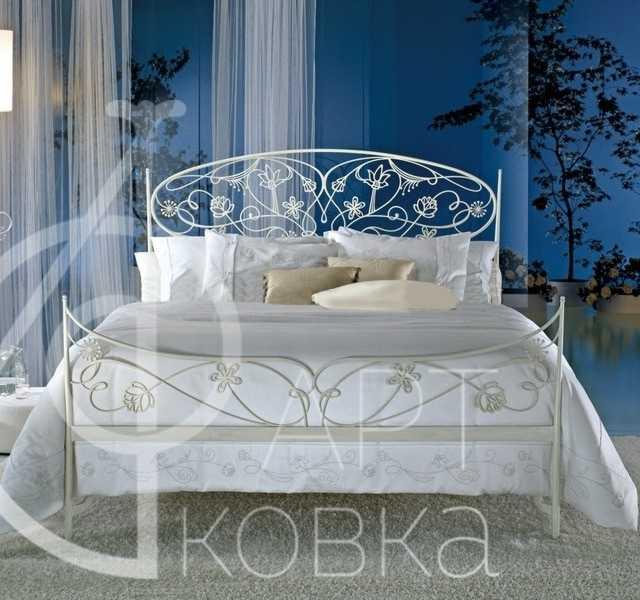 Кованая кровать Триса