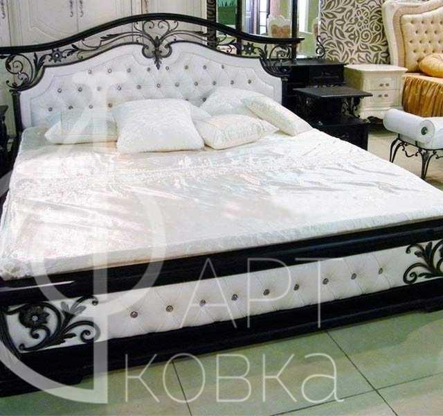 Кованая кровать Петра
