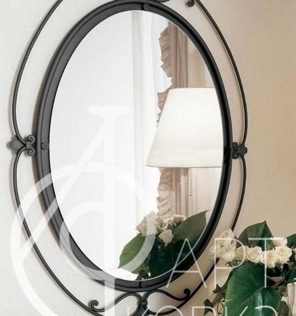Кованое зеркало Аврора