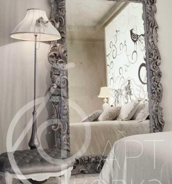 Кованое зеркало Помпадур