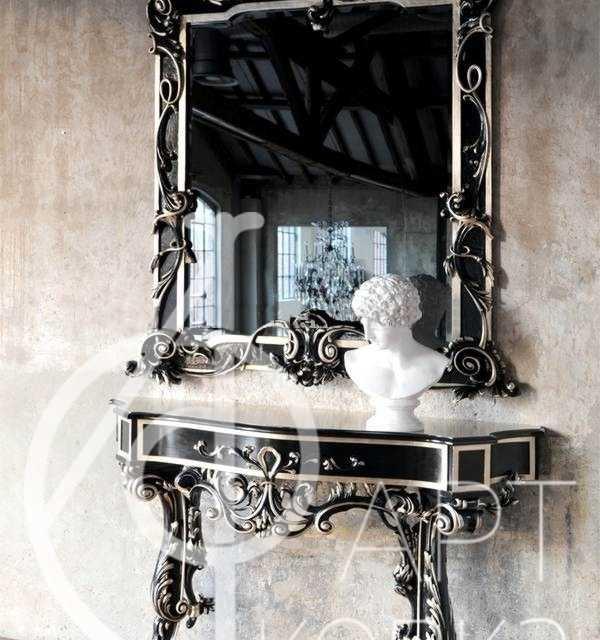 Кованое зеркало Геральдика
