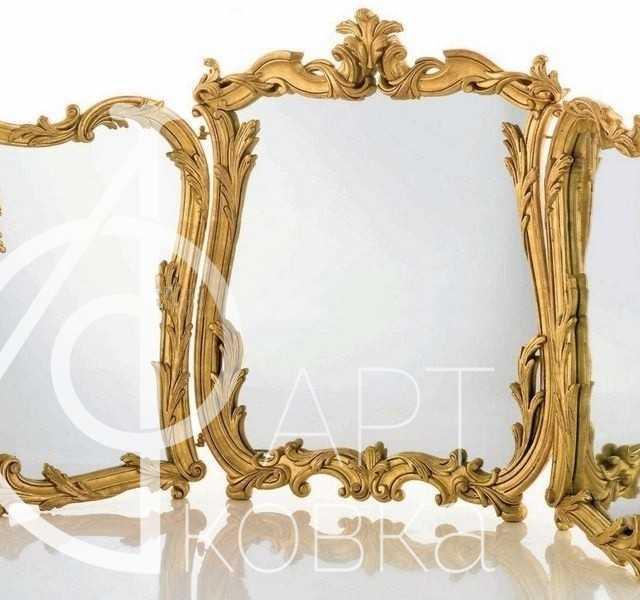 Кованое зеркало Вестона