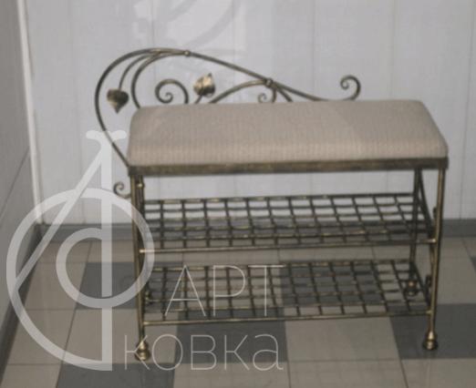Кованый стул Солас