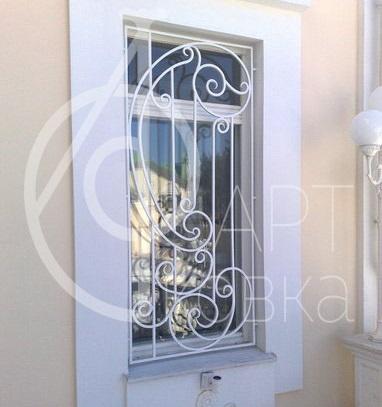 Кованые решетки на окна Музаль 14