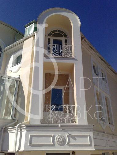 Кованые ограждения для балконов Винтаж 08
