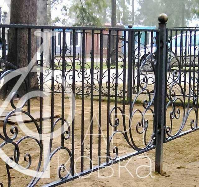 Сварной забор Пламвик