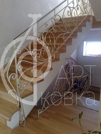 Кованые перила для лестниц Эшли 37