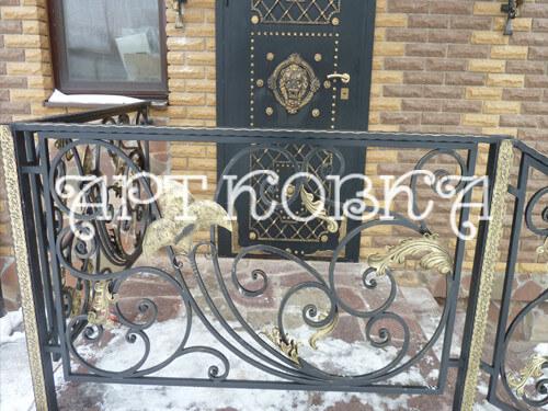 Кованые ограждения балконов Вилли