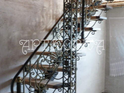 Кованая лестница Меланта
