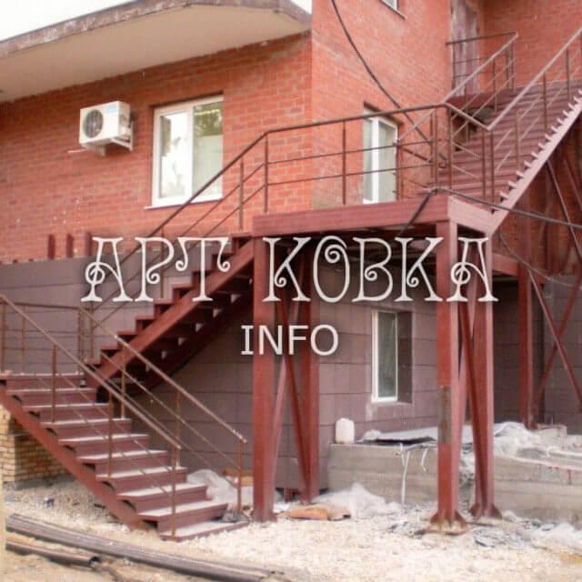 Сварная лестница Кораж
