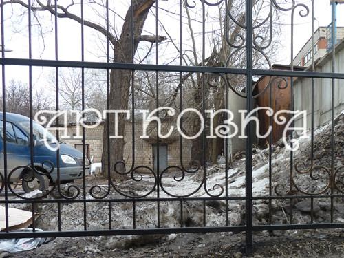 Кованый забор Тефия