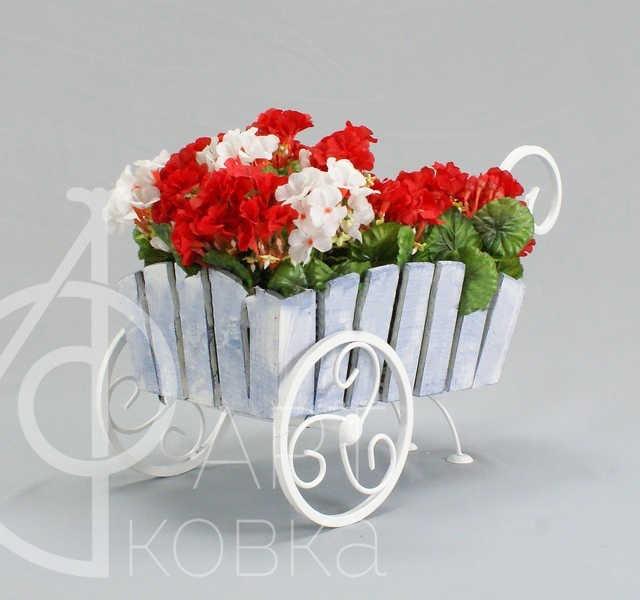 Кованая цветочница Мирта 64