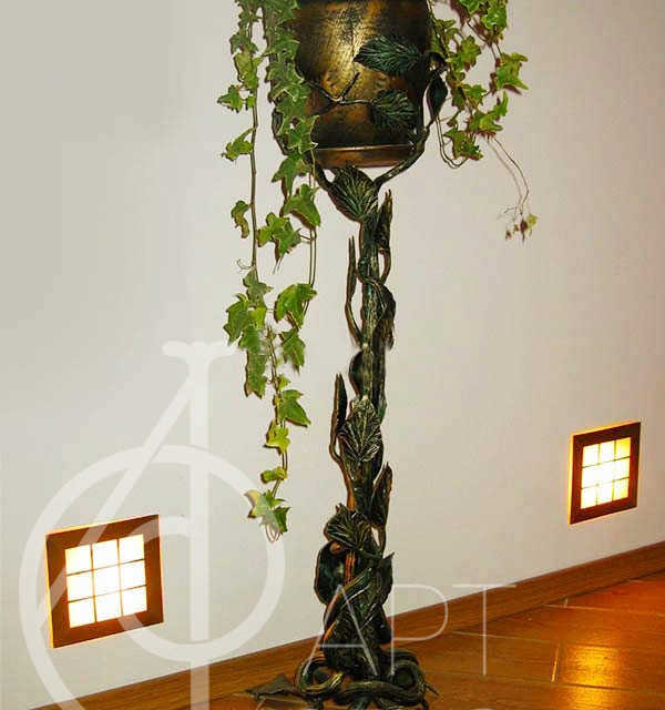 Кованая цветочница Моно 66