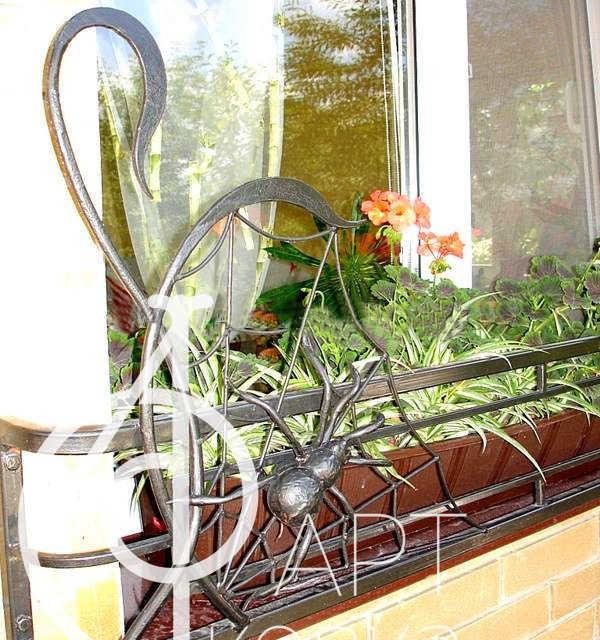 Кованая цветочница Тильда 67