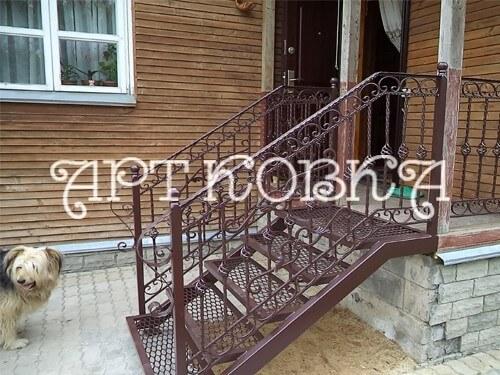 Кованая лестница Бриджит