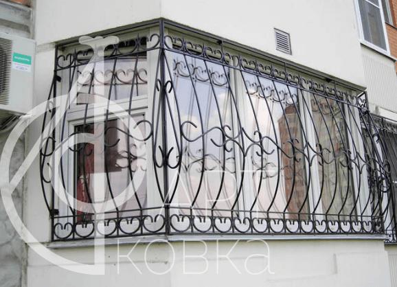 Кованые решетки на окна Солли