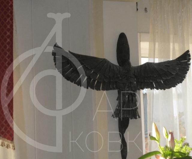 Кованое украшение Птица