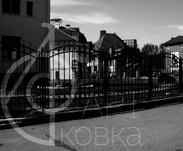 Кованые ворота Арден