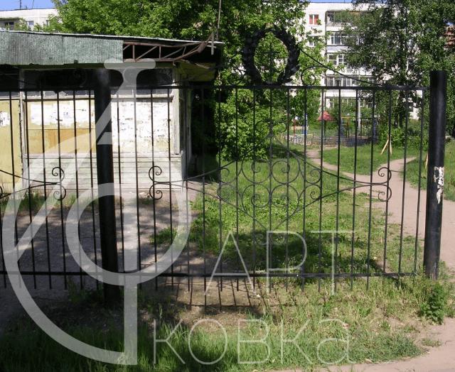 Кованый забор Анимус