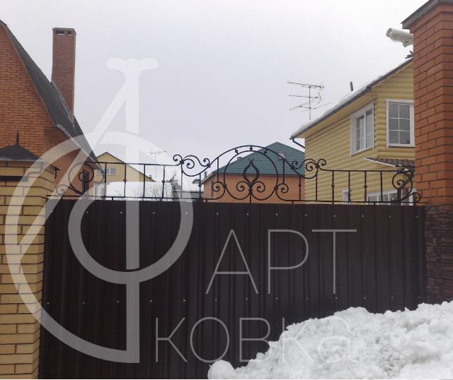 Кованый забор Веста