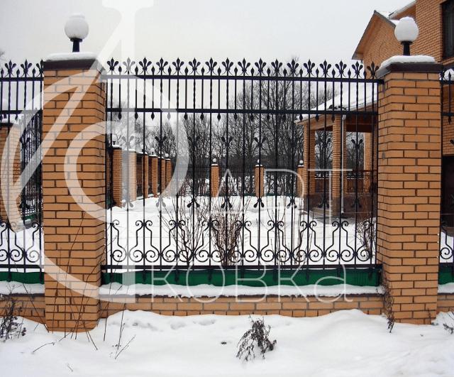 Кованый забор Ноктюрнал