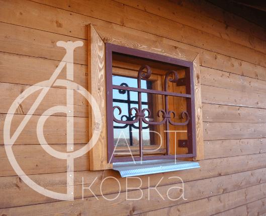Кованые решетки на окна Иола