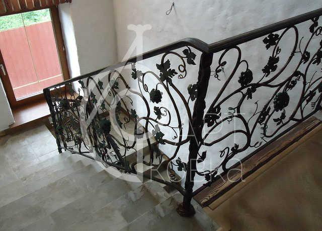 Кованые перила для лестниц Дориан 41
