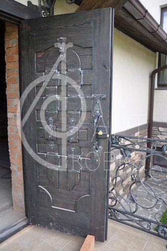 Кованая дверь Трелль