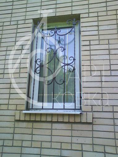 Кованые решетки на окна Морриган 13