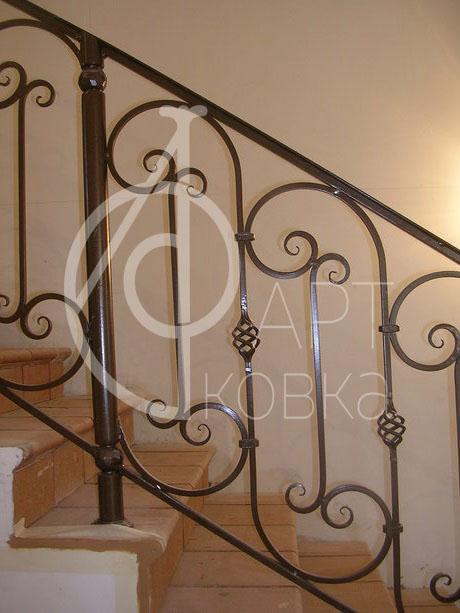 Кованые перила для лестниц Селина 46