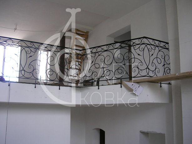 Кованые ограждения балконов Митал 21