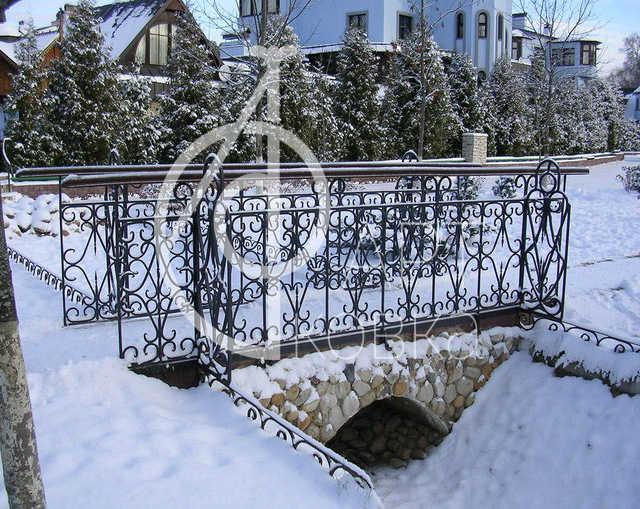 Кованый мостик Флисса 19