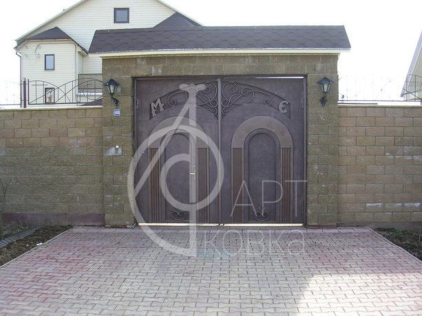 Кованые ворота Кадан 04