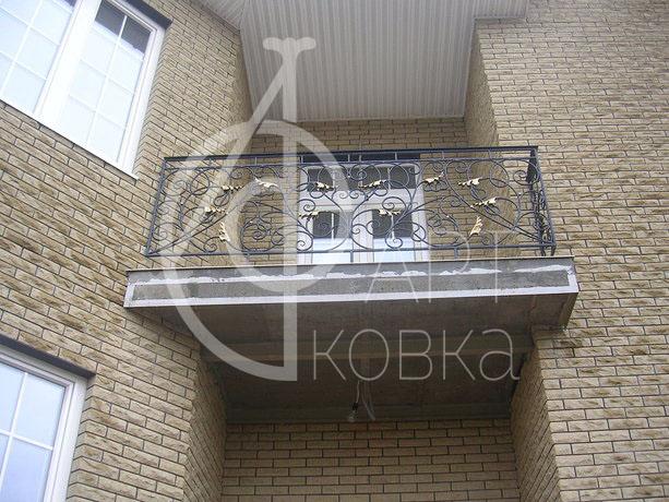 Кованые ограждения балконов Кайлан 23