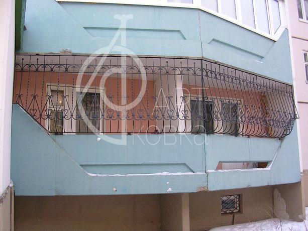 Кованое ограждение балконов Битраль