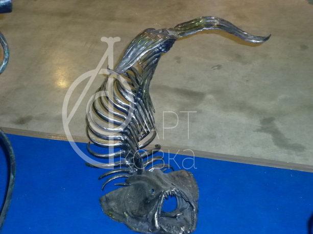 Кованая статуэтка Рыба