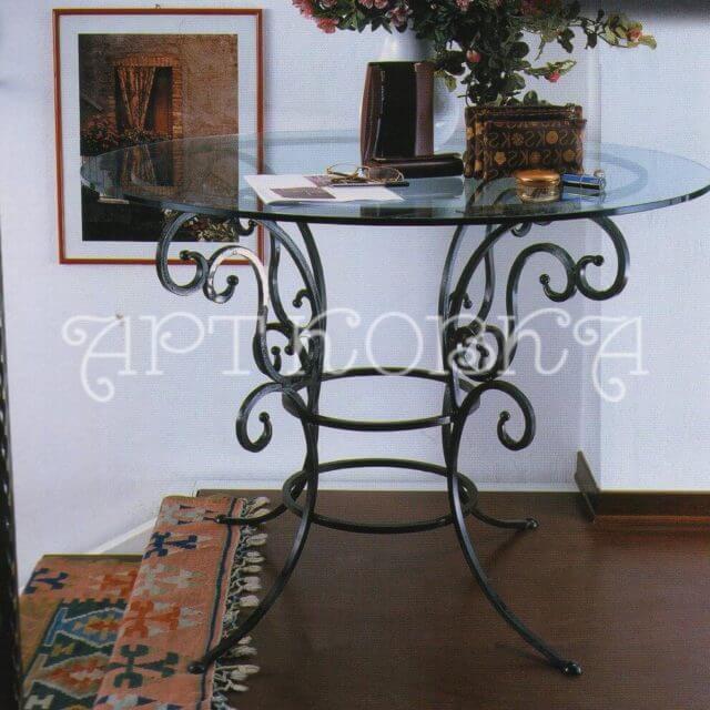 Кованый стол Лерой